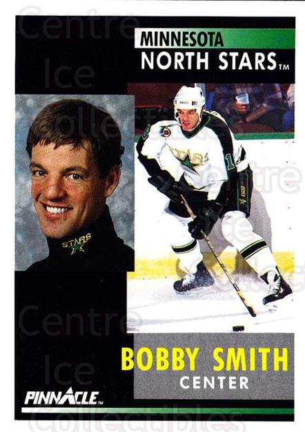 1991-92 Pinnacle #210 Bobby Smith<br/>7 In Stock - $1.00 each - <a href=https://centericecollectibles.foxycart.com/cart?name=1991-92%20Pinnacle%20%23210%20Bobby%20Smith...&quantity_max=7&price=$1.00&code=245504 class=foxycart> Buy it now! </a>