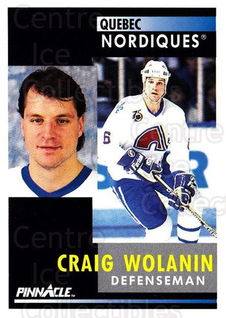 1991-92 Pinnacle #217 Craig Wolanin<br/>8 In Stock - $1.00 each - <a href=https://centericecollectibles.foxycart.com/cart?name=1991-92%20Pinnacle%20%23217%20Craig%20Wolanin...&quantity_max=8&price=$1.00&code=245511 class=foxycart> Buy it now! </a>