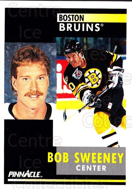 1991-92 Pinnacle #222 Bob Sweeney<br/>8 In Stock - $1.00 each - <a href=https://centericecollectibles.foxycart.com/cart?name=1991-92%20Pinnacle%20%23222%20Bob%20Sweeney...&quantity_max=8&price=$1.00&code=245516 class=foxycart> Buy it now! </a>