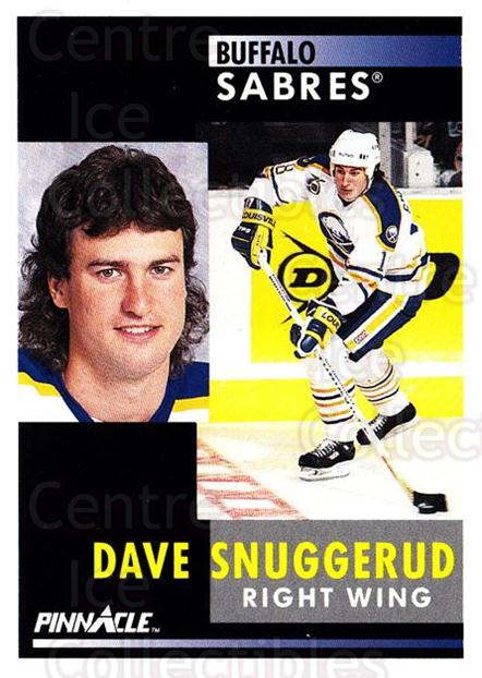 1991-92 Pinnacle #223 Dave Snuggerud<br/>7 In Stock - $1.00 each - <a href=https://centericecollectibles.foxycart.com/cart?name=1991-92%20Pinnacle%20%23223%20Dave%20Snuggerud...&quantity_max=7&price=$1.00&code=245517 class=foxycart> Buy it now! </a>