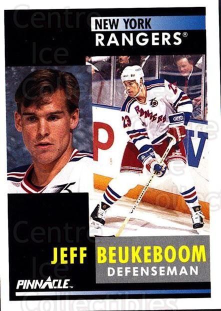 1991-92 Pinnacle #229 Jeff Beukeboom<br/>7 In Stock - $1.00 each - <a href=https://centericecollectibles.foxycart.com/cart?name=1991-92%20Pinnacle%20%23229%20Jeff%20Beukeboom...&quantity_max=7&price=$1.00&code=245523 class=foxycart> Buy it now! </a>