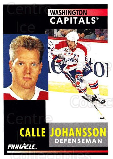 1991-92 Pinnacle #232 Calle Johansson<br/>8 In Stock - $1.00 each - <a href=https://centericecollectibles.foxycart.com/cart?name=1991-92%20Pinnacle%20%23232%20Calle%20Johansson...&quantity_max=8&price=$1.00&code=245526 class=foxycart> Buy it now! </a>