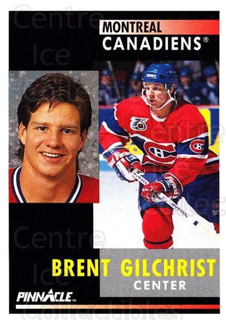 1991-92 Pinnacle #236 Brent Gilchrist<br/>8 In Stock - $1.00 each - <a href=https://centericecollectibles.foxycart.com/cart?name=1991-92%20Pinnacle%20%23236%20Brent%20Gilchrist...&quantity_max=8&price=$1.00&code=245530 class=foxycart> Buy it now! </a>