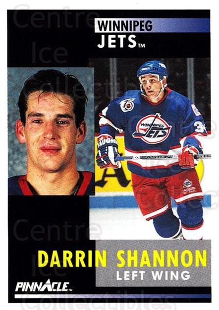 1991-92 Pinnacle #243 Darrin Shannon<br/>8 In Stock - $1.00 each - <a href=https://centericecollectibles.foxycart.com/cart?name=1991-92%20Pinnacle%20%23243%20Darrin%20Shannon...&quantity_max=8&price=$1.00&code=245537 class=foxycart> Buy it now! </a>