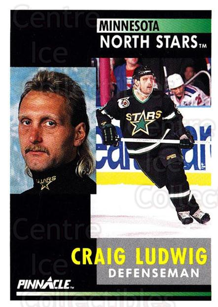 1991-92 Pinnacle #248 Craig Ludwig<br/>8 In Stock - $1.00 each - <a href=https://centericecollectibles.foxycart.com/cart?name=1991-92%20Pinnacle%20%23248%20Craig%20Ludwig...&quantity_max=8&price=$1.00&code=245542 class=foxycart> Buy it now! </a>