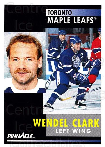 1991-92 Pinnacle #250 Wendel Clark<br/>7 In Stock - $1.00 each - <a href=https://centericecollectibles.foxycart.com/cart?name=1991-92%20Pinnacle%20%23250%20Wendel%20Clark...&quantity_max=7&price=$1.00&code=245544 class=foxycart> Buy it now! </a>