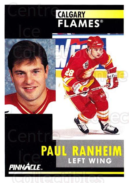 1991-92 Pinnacle #252 Paul Ranheim<br/>8 In Stock - $1.00 each - <a href=https://centericecollectibles.foxycart.com/cart?name=1991-92%20Pinnacle%20%23252%20Paul%20Ranheim...&quantity_max=8&price=$1.00&code=245546 class=foxycart> Buy it now! </a>