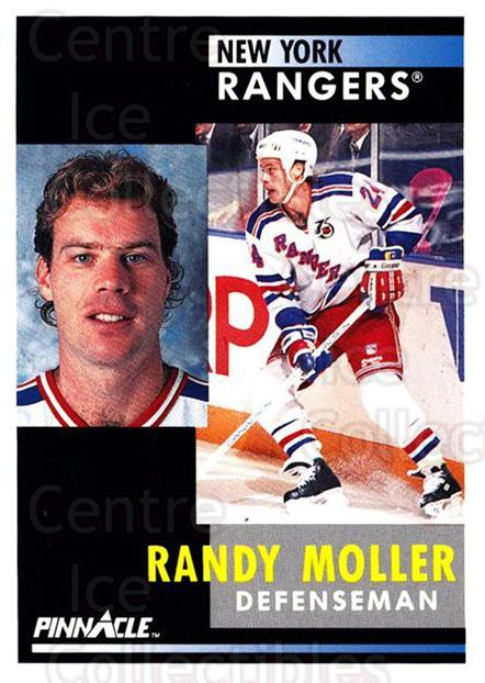 1991-92 Pinnacle #256 Randy Moller<br/>5 In Stock - $1.00 each - <a href=https://centericecollectibles.foxycart.com/cart?name=1991-92%20Pinnacle%20%23256%20Randy%20Moller...&quantity_max=5&price=$1.00&code=245550 class=foxycart> Buy it now! </a>