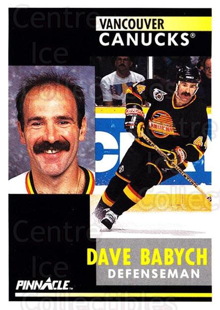 1991-92 Pinnacle #270 Dave Babych<br/>7 In Stock - $1.00 each - <a href=https://centericecollectibles.foxycart.com/cart?name=1991-92%20Pinnacle%20%23270%20Dave%20Babych...&quantity_max=7&price=$1.00&code=245564 class=foxycart> Buy it now! </a>