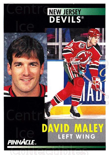 1991-92 Pinnacle #272 David Maley<br/>7 In Stock - $1.00 each - <a href=https://centericecollectibles.foxycart.com/cart?name=1991-92%20Pinnacle%20%23272%20David%20Maley...&quantity_max=7&price=$1.00&code=245566 class=foxycart> Buy it now! </a>