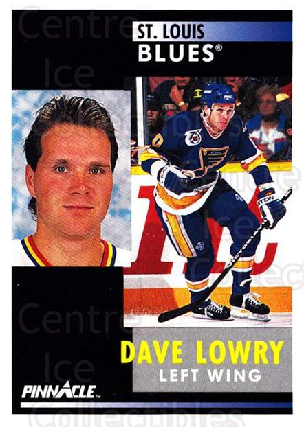 1991-92 Pinnacle #276 Dave Lowry<br/>8 In Stock - $1.00 each - <a href=https://centericecollectibles.foxycart.com/cart?name=1991-92%20Pinnacle%20%23276%20Dave%20Lowry...&quantity_max=8&price=$1.00&code=245570 class=foxycart> Buy it now! </a>