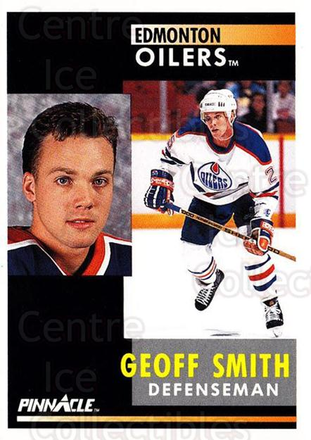 1991-92 Pinnacle #283 Geoff Smith<br/>8 In Stock - $1.00 each - <a href=https://centericecollectibles.foxycart.com/cart?name=1991-92%20Pinnacle%20%23283%20Geoff%20Smith...&quantity_max=8&price=$1.00&code=245577 class=foxycart> Buy it now! </a>