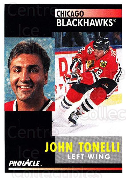 1991-92 Pinnacle #284 John Tonelli<br/>8 In Stock - $1.00 each - <a href=https://centericecollectibles.foxycart.com/cart?name=1991-92%20Pinnacle%20%23284%20John%20Tonelli...&quantity_max=8&price=$1.00&code=245578 class=foxycart> Buy it now! </a>