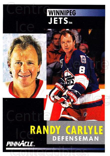 1991-92 Pinnacle #288 Randy Carlyle<br/>8 In Stock - $1.00 each - <a href=https://centericecollectibles.foxycart.com/cart?name=1991-92%20Pinnacle%20%23288%20Randy%20Carlyle...&quantity_max=8&price=$1.00&code=245582 class=foxycart> Buy it now! </a>