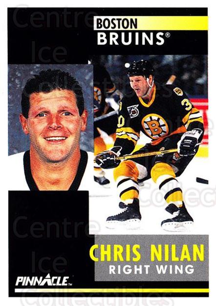1991-92 Pinnacle #289 Chris Nilan<br/>4 In Stock - $1.00 each - <a href=https://centericecollectibles.foxycart.com/cart?name=1991-92%20Pinnacle%20%23289%20Chris%20Nilan...&quantity_max=4&price=$1.00&code=245583 class=foxycart> Buy it now! </a>