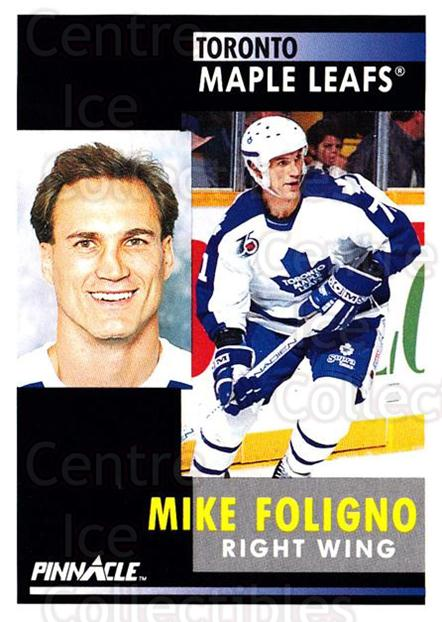 1991-92 Pinnacle #292 Mike Foligno<br/>8 In Stock - $1.00 each - <a href=https://centericecollectibles.foxycart.com/cart?name=1991-92%20Pinnacle%20%23292%20Mike%20Foligno...&quantity_max=8&price=$1.00&code=245586 class=foxycart> Buy it now! </a>