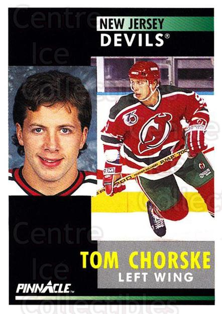 1991-92 Pinnacle #295 Tom Chorske<br/>8 In Stock - $1.00 each - <a href=https://centericecollectibles.foxycart.com/cart?name=1991-92%20Pinnacle%20%23295%20Tom%20Chorske...&quantity_max=8&price=$1.00&code=245589 class=foxycart> Buy it now! </a>