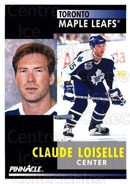 1991-92 Pinnacle #296 Claude Loiselle<br/>6 In Stock - $1.00 each - <a href=https://centericecollectibles.foxycart.com/cart?name=1991-92%20Pinnacle%20%23296%20Claude%20Loiselle...&quantity_max=6&price=$1.00&code=245590 class=foxycart> Buy it now! </a>