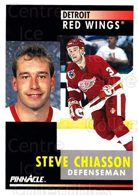 1991-92 Pinnacle #298 Steve Chiasson<br/>8 In Stock - $1.00 each - <a href=https://centericecollectibles.foxycart.com/cart?name=1991-92%20Pinnacle%20%23298%20Steve%20Chiasson...&quantity_max=8&price=$1.00&code=245592 class=foxycart> Buy it now! </a>