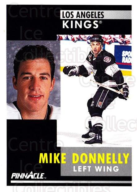 1991-92 Pinnacle #299 Mike Donnelly<br/>8 In Stock - $1.00 each - <a href=https://centericecollectibles.foxycart.com/cart?name=1991-92%20Pinnacle%20%23299%20Mike%20Donnelly...&quantity_max=8&price=$1.00&code=245593 class=foxycart> Buy it now! </a>