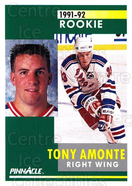 1991-92 Pinnacle #301 Tony Amonte<br/>14 In Stock - $1.00 each - <a href=https://centericecollectibles.foxycart.com/cart?name=1991-92%20Pinnacle%20%23301%20Tony%20Amonte...&quantity_max=14&price=$1.00&code=245595 class=foxycart> Buy it now! </a>