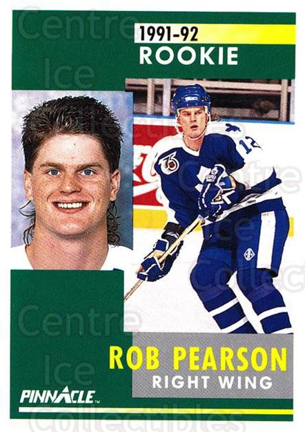 1991-92 Pinnacle #304 Rob Pearson<br/>8 In Stock - $1.00 each - <a href=https://centericecollectibles.foxycart.com/cart?name=1991-92%20Pinnacle%20%23304%20Rob%20Pearson...&quantity_max=8&price=$1.00&code=245598 class=foxycart> Buy it now! </a>