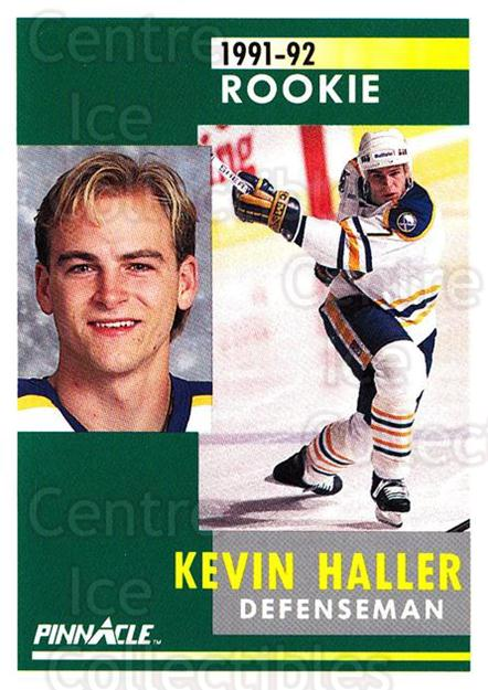 1991-92 Pinnacle #307 Kevin Haller<br/>8 In Stock - $1.00 each - <a href=https://centericecollectibles.foxycart.com/cart?name=1991-92%20Pinnacle%20%23307%20Kevin%20Haller...&quantity_max=8&price=$1.00&code=245601 class=foxycart> Buy it now! </a>