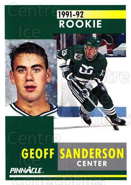 1991-92 Pinnacle #309 Geoff Sanderson<br/>5 In Stock - $1.00 each - <a href=https://centericecollectibles.foxycart.com/cart?name=1991-92%20Pinnacle%20%23309%20Geoff%20Sanderson...&quantity_max=5&price=$1.00&code=245603 class=foxycart> Buy it now! </a>