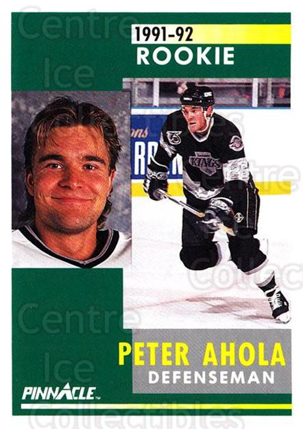 1991-92 Pinnacle #312 Peter Ahola<br/>4 In Stock - $1.00 each - <a href=https://centericecollectibles.foxycart.com/cart?name=1991-92%20Pinnacle%20%23312%20Peter%20Ahola...&quantity_max=4&price=$1.00&code=245606 class=foxycart> Buy it now! </a>