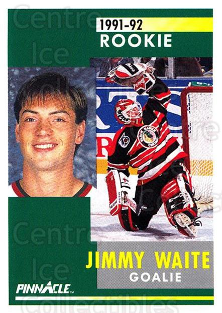 1991-92 Pinnacle #316 Jimmy Waite<br/>7 In Stock - $1.00 each - <a href=https://centericecollectibles.foxycart.com/cart?name=1991-92%20Pinnacle%20%23316%20Jimmy%20Waite...&quantity_max=7&price=$1.00&code=245610 class=foxycart> Buy it now! </a>