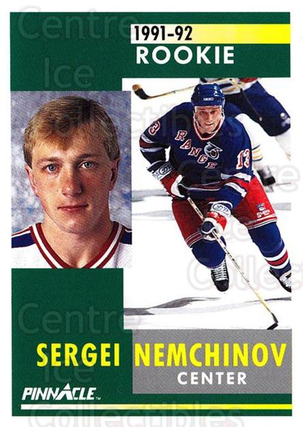 1991-92 Pinnacle #317 Sergei Nemchinov<br/>5 In Stock - $1.00 each - <a href=https://centericecollectibles.foxycart.com/cart?name=1991-92%20Pinnacle%20%23317%20Sergei%20Nemchino...&quantity_max=5&price=$1.00&code=245611 class=foxycart> Buy it now! </a>