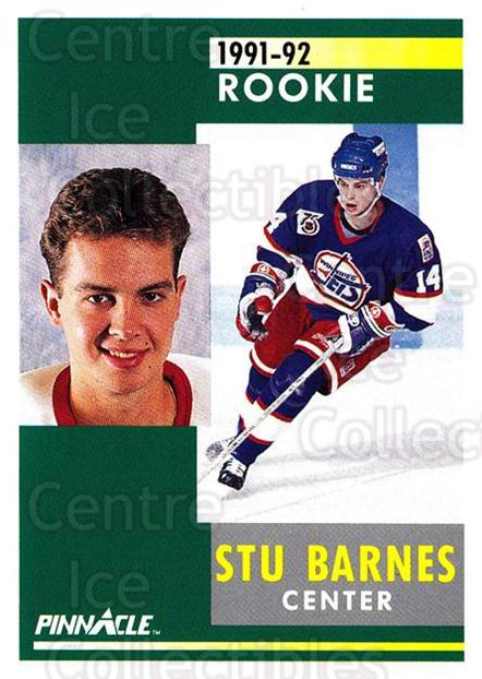 1991-92 Pinnacle #319 Stu Barnes<br/>8 In Stock - $1.00 each - <a href=https://centericecollectibles.foxycart.com/cart?name=1991-92%20Pinnacle%20%23319%20Stu%20Barnes...&quantity_max=8&price=$1.00&code=245613 class=foxycart> Buy it now! </a>