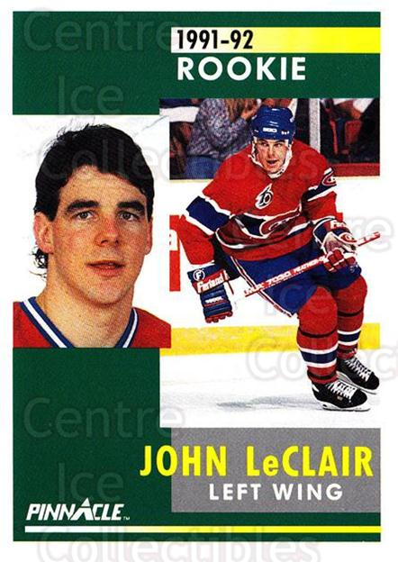 1991-92 Pinnacle #322 John LeClair<br/>4 In Stock - $2.00 each - <a href=https://centericecollectibles.foxycart.com/cart?name=1991-92%20Pinnacle%20%23322%20John%20LeClair...&quantity_max=4&price=$2.00&code=245616 class=foxycart> Buy it now! </a>