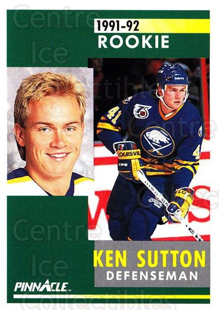 1991-92 Pinnacle #325 Ken Sutton<br/>8 In Stock - $1.00 each - <a href=https://centericecollectibles.foxycart.com/cart?name=1991-92%20Pinnacle%20%23325%20Ken%20Sutton...&quantity_max=8&price=$1.00&code=245619 class=foxycart> Buy it now! </a>