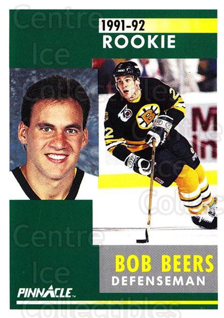 1991-92 Pinnacle #326 Bob Beers<br/>8 In Stock - $1.00 each - <a href=https://centericecollectibles.foxycart.com/cart?name=1991-92%20Pinnacle%20%23326%20Bob%20Beers...&quantity_max=8&price=$1.00&code=245620 class=foxycart> Buy it now! </a>