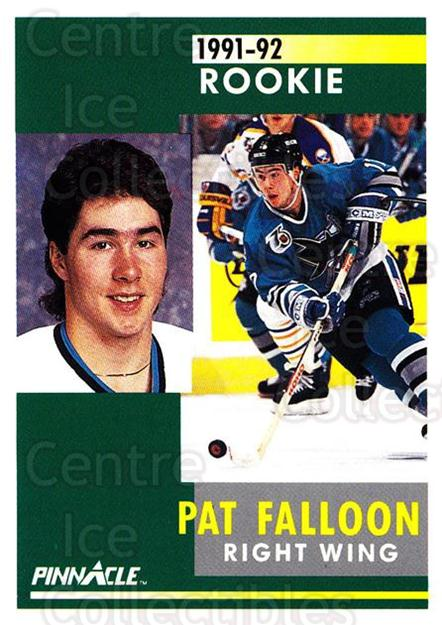 1991-92 Pinnacle #329 Pat Falloon<br/>7 In Stock - $1.00 each - <a href=https://centericecollectibles.foxycart.com/cart?name=1991-92%20Pinnacle%20%23329%20Pat%20Falloon...&quantity_max=7&price=$1.00&code=245623 class=foxycart> Buy it now! </a>