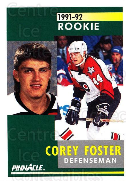 1991-92 Pinnacle #332 Corey Foster<br/>8 In Stock - $1.00 each - <a href=https://centericecollectibles.foxycart.com/cart?name=1991-92%20Pinnacle%20%23332%20Corey%20Foster...&quantity_max=8&price=$1.00&code=245626 class=foxycart> Buy it now! </a>