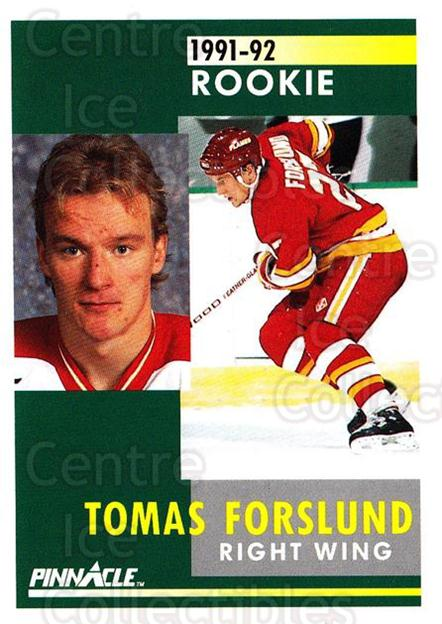 1991-92 Pinnacle #333 Tomas Forslund<br/>7 In Stock - $1.00 each - <a href=https://centericecollectibles.foxycart.com/cart?name=1991-92%20Pinnacle%20%23333%20Tomas%20Forslund...&quantity_max=7&price=$1.00&code=245627 class=foxycart> Buy it now! </a>