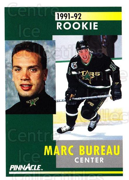 1991-92 Pinnacle #335 Marc Bureau<br/>8 In Stock - $1.00 each - <a href=https://centericecollectibles.foxycart.com/cart?name=1991-92%20Pinnacle%20%23335%20Marc%20Bureau...&quantity_max=8&price=$1.00&code=245629 class=foxycart> Buy it now! </a>