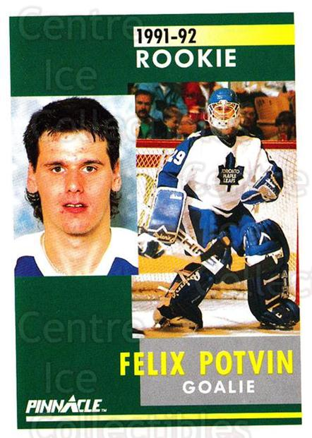 1991-92 Pinnacle #345 Felix Potvin<br/>3 In Stock - $1.00 each - <a href=https://centericecollectibles.foxycart.com/cart?name=1991-92%20Pinnacle%20%23345%20Felix%20Potvin...&quantity_max=3&price=$1.00&code=245639 class=foxycart> Buy it now! </a>