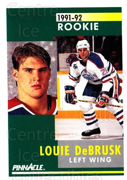 1991-92 Pinnacle #347 Louie DeBrusk<br/>6 In Stock - $1.00 each - <a href=https://centericecollectibles.foxycart.com/cart?name=1991-92%20Pinnacle%20%23347%20Louie%20DeBrusk...&quantity_max=6&price=$1.00&code=245641 class=foxycart> Buy it now! </a>