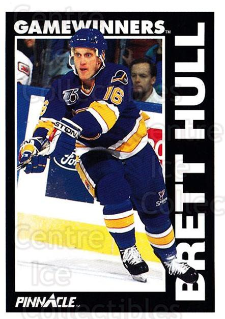 1991-92 Pinnacle #356 Brett Hull<br/>8 In Stock - $1.00 each - <a href=https://centericecollectibles.foxycart.com/cart?name=1991-92%20Pinnacle%20%23356%20Brett%20Hull...&price=$1.00&code=245650 class=foxycart> Buy it now! </a>