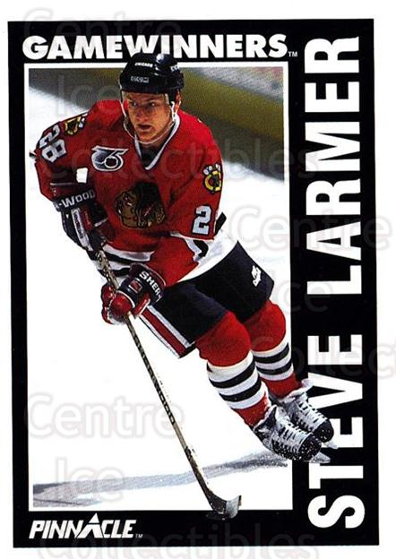 1991-92 Pinnacle #357 Steve Larmer<br/>7 In Stock - $1.00 each - <a href=https://centericecollectibles.foxycart.com/cart?name=1991-92%20Pinnacle%20%23357%20Steve%20Larmer...&quantity_max=7&price=$1.00&code=245651 class=foxycart> Buy it now! </a>