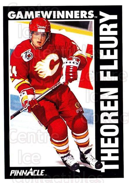 1991-92 Pinnacle #358 Theo Fleury<br/>8 In Stock - $1.00 each - <a href=https://centericecollectibles.foxycart.com/cart?name=1991-92%20Pinnacle%20%23358%20Theo%20Fleury...&quantity_max=8&price=$1.00&code=245652 class=foxycart> Buy it now! </a>