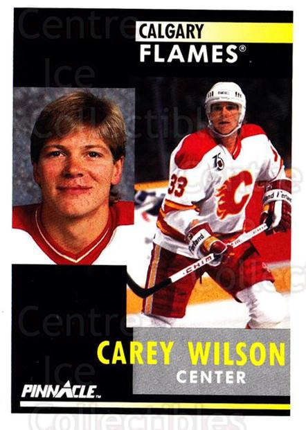 1991-92 Pinnacle #364 Carey Wilson<br/>5 In Stock - $1.00 each - <a href=https://centericecollectibles.foxycart.com/cart?name=1991-92%20Pinnacle%20%23364%20Carey%20Wilson...&quantity_max=5&price=$1.00&code=245658 class=foxycart> Buy it now! </a>
