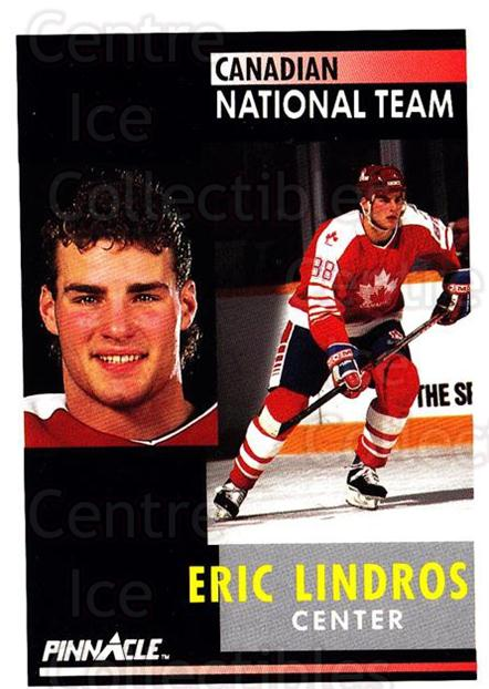 1991-92 Pinnacle #365 Eric Lindros<br/>8 In Stock - $1.00 each - <a href=https://centericecollectibles.foxycart.com/cart?name=1991-92%20Pinnacle%20%23365%20Eric%20Lindros...&quantity_max=8&price=$1.00&code=245659 class=foxycart> Buy it now! </a>