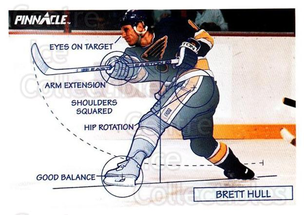 1991-92 Pinnacle #376 Brett Hull<br/>8 In Stock - $1.00 each - <a href=https://centericecollectibles.foxycart.com/cart?name=1991-92%20Pinnacle%20%23376%20Brett%20Hull...&price=$1.00&code=245670 class=foxycart> Buy it now! </a>