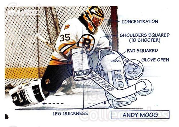 1991-92 Pinnacle #379 Andy Moog<br/>6 In Stock - $1.00 each - <a href=https://centericecollectibles.foxycart.com/cart?name=1991-92%20Pinnacle%20%23379%20Andy%20Moog...&quantity_max=6&price=$1.00&code=245673 class=foxycart> Buy it now! </a>