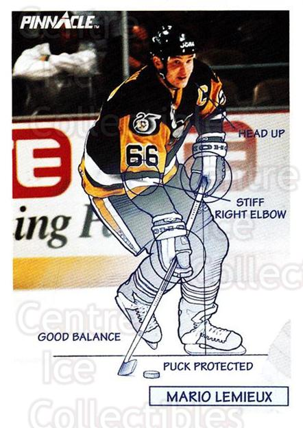 1991-92 Pinnacle #380 Mario Lemieux<br/>6 In Stock - $2.00 each - <a href=https://centericecollectibles.foxycart.com/cart?name=1991-92%20Pinnacle%20%23380%20Mario%20Lemieux...&price=$2.00&code=245674 class=foxycart> Buy it now! </a>