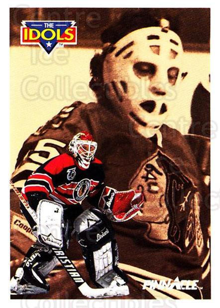 1991-92 Pinnacle #388 Ed Belfour, Tony Esposito<br/>6 In Stock - $2.00 each - <a href=https://centericecollectibles.foxycart.com/cart?name=1991-92%20Pinnacle%20%23388%20Ed%20Belfour,%20Ton...&quantity_max=6&price=$2.00&code=245682 class=foxycart> Buy it now! </a>